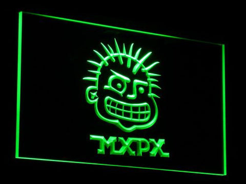 MxPx LED Neon Sign - Green - SafeSpecial