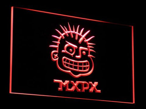 MxPx LED Neon Sign - Red - SafeSpecial