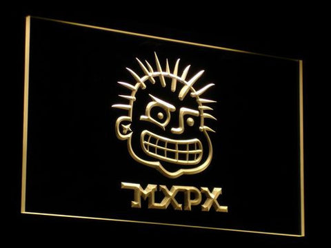 MxPx LED Neon Sign - Yellow - SafeSpecial