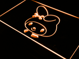 My Melody Head LED Neon Sign - Orange - SafeSpecial