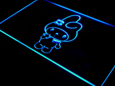 My Melody LED Neon Sign - Blue - SafeSpecial