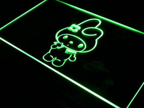 Image of My Melody LED Neon Sign - Green - SafeSpecial