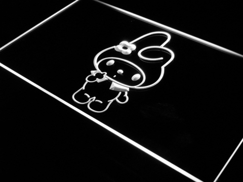 Image of My Melody LED Neon Sign - White - SafeSpecial