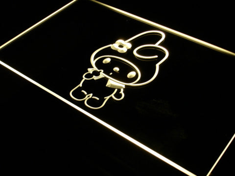 Image of My Melody LED Neon Sign - Yellow - SafeSpecial