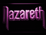 Nazareth LED Neon Sign - Purple - SafeSpecial