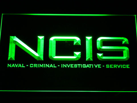 Image of NCIS LED Neon Sign - Green - SafeSpecial