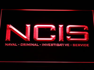 NCIS LED Neon Sign - Red - SafeSpecial