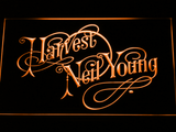 Neil Young Harvest LED Neon Sign - Orange - SafeSpecial