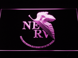 Neon Genesis Evangelion Nerv LED Neon Sign - Purple - SafeSpecial