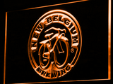 New Belgium Brewing Company LED Neon Sign - Orange - SafeSpecial