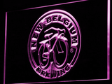 New Belgium Brewing Company LED Neon Sign - Purple - SafeSpecial