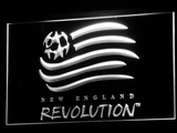 New England Revolution LED Neon Sign - White - SafeSpecial