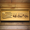 New England Revolution Wooden Sign - Small - SafeSpecial