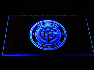 New York City FC LED Neon Sign - Blue - SafeSpecial