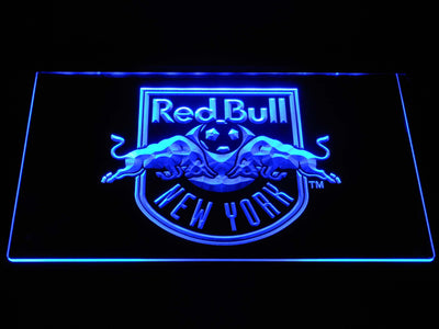 New York Red Bulls LED Neon Sign - Blue - SafeSpecial