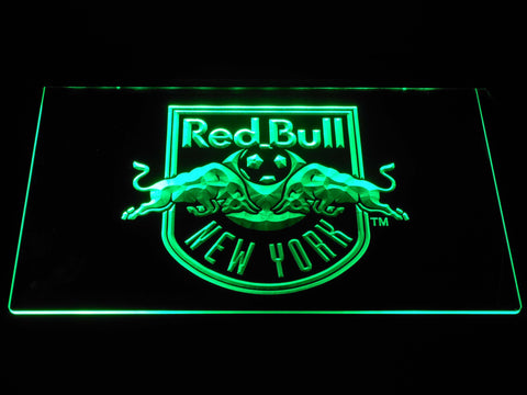 Image of New York Red Bulls LED Neon Sign - Green - SafeSpecial