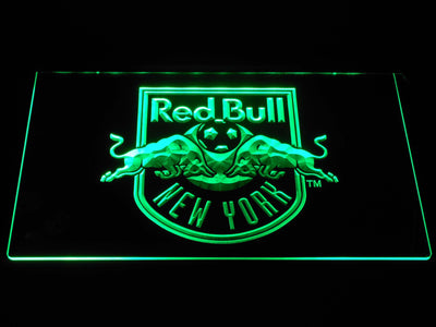 New York Red Bulls LED Neon Sign - Green - SafeSpecial