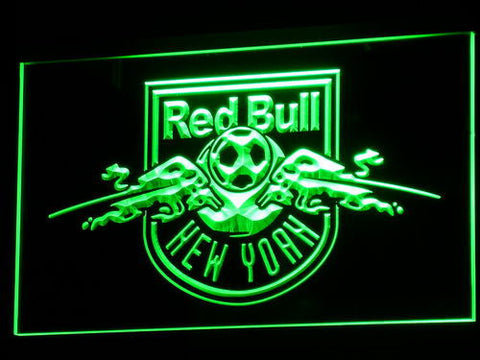 New York Red Bulls LED Neon Sign - Legacy Edition - Green - SafeSpecial