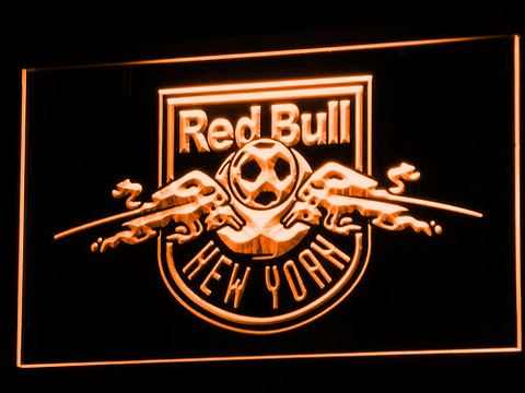 New York Red Bulls LED Neon Sign - Legacy Edition - Orange - SafeSpecial