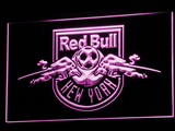 New York Red Bulls LED Neon Sign - Legacy Edition - Purple - SafeSpecial