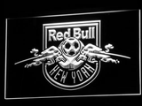New York Red Bulls LED Neon Sign - Legacy Edition - White - SafeSpecial
