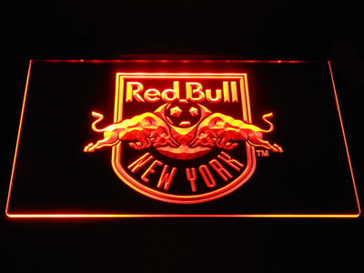 New York Red Bulls LED Neon Sign - Orange - SafeSpecial