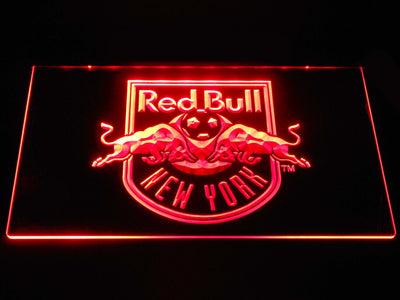 New York Red Bulls LED Neon Sign - Red - SafeSpecial