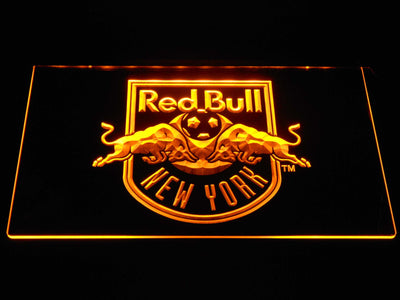 New York Red Bulls LED Neon Sign - Yellow - SafeSpecial