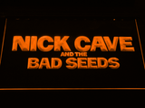 Nick Cave & the Bad Seeds LED Neon Sign - Orange - SafeSpecial