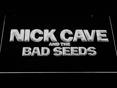 Nick Cave & the Bad Seeds LED Neon Sign - White - SafeSpecial