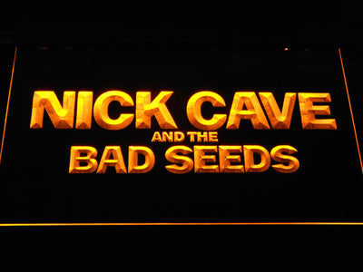 Nick Cave & the Bad Seeds LED Neon Sign - Yellow - SafeSpecial