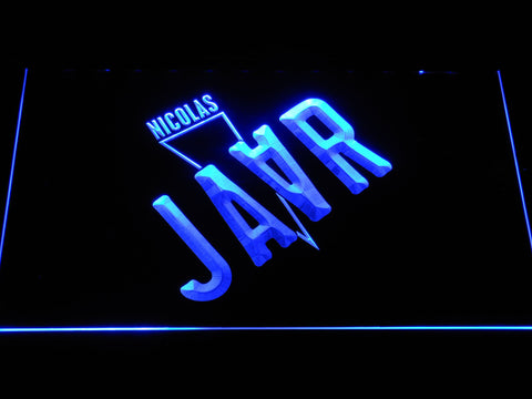 Image of Nicolas Jaar LED Neon Sign - Blue - SafeSpecial