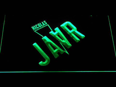 Image of Nicolas Jaar LED Neon Sign - Green - SafeSpecial