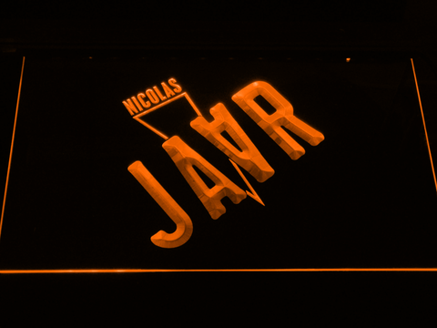 Nicolas Jaar LED Neon Sign - Orange - SafeSpecial