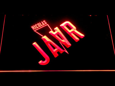 Nicolas Jaar LED Neon Sign - Red - SafeSpecial
