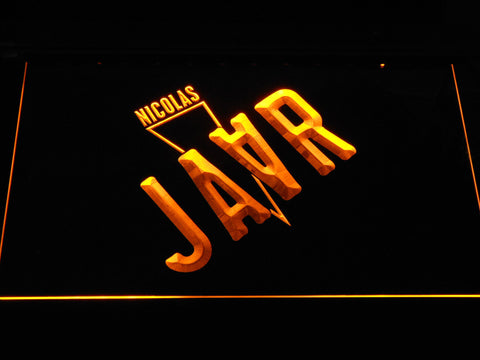 Nicolas Jaar LED Neon Sign - Yellow - SafeSpecial