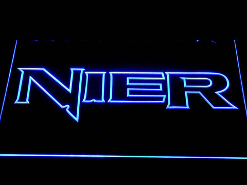 Nier LED Neon Sign - Blue - SafeSpecial