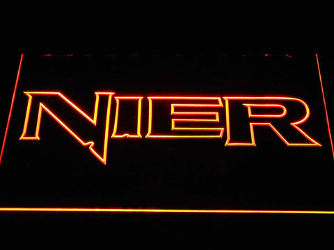 Nier LED Neon Sign - Orange - SafeSpecial