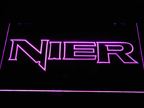 Nier LED Neon Sign - Purple - SafeSpecial
