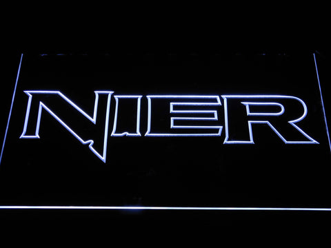 Nier LED Neon Sign - White - SafeSpecial