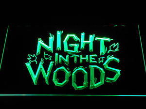 Night in the Woods LED Neon Sign - Green - SafeSpecial