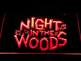 Night in the Woods LED Neon Sign - Red - SafeSpecial