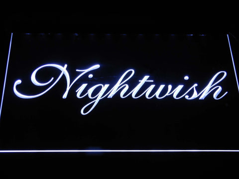 Nightwish LED Neon Sign - White - SafeSpecial