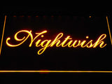 Nightwish LED Neon Sign - Yellow - SafeSpecial