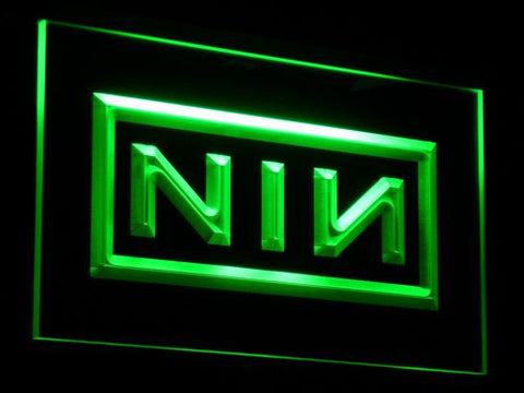 Nine Inch Nails LED Neon Sign - Green - SafeSpecial