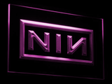 Nine Inch Nails LED Neon Sign - Purple - SafeSpecial