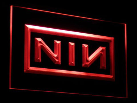 Nine Inch Nails LED Neon Sign - Red - SafeSpecial
