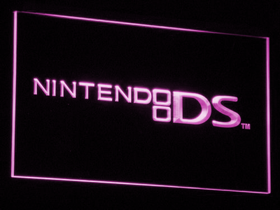 Nintendo DS LED Neon Sign - Purple - SafeSpecial