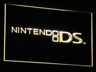 Nintendo DS LED Neon Sign - Yellow - SafeSpecial