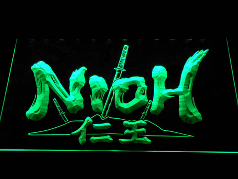 Nioh LED Neon Sign - Green - SafeSpecial